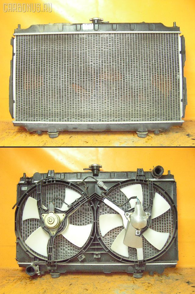 Радиатор ДВС NISSAN PRIMERA HP11 SR20DE. Фото 1