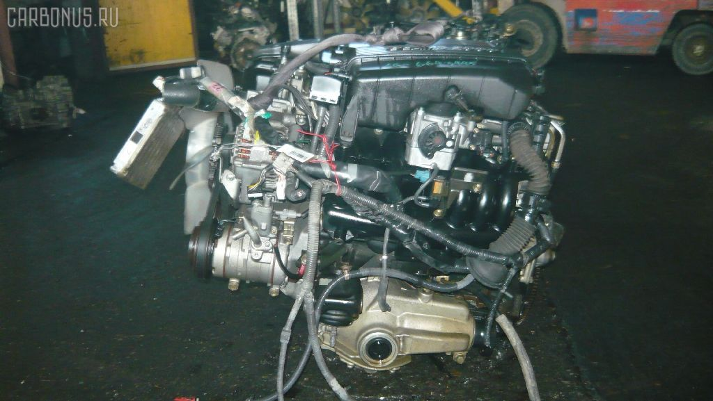 Двигатель TOYOTA MARK II GX105 1G-FE. Фото 3