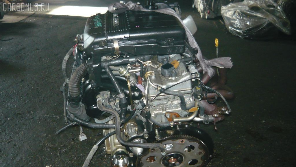 Двигатель TOYOTA MARK II GX105 1G-FE. Фото 4
