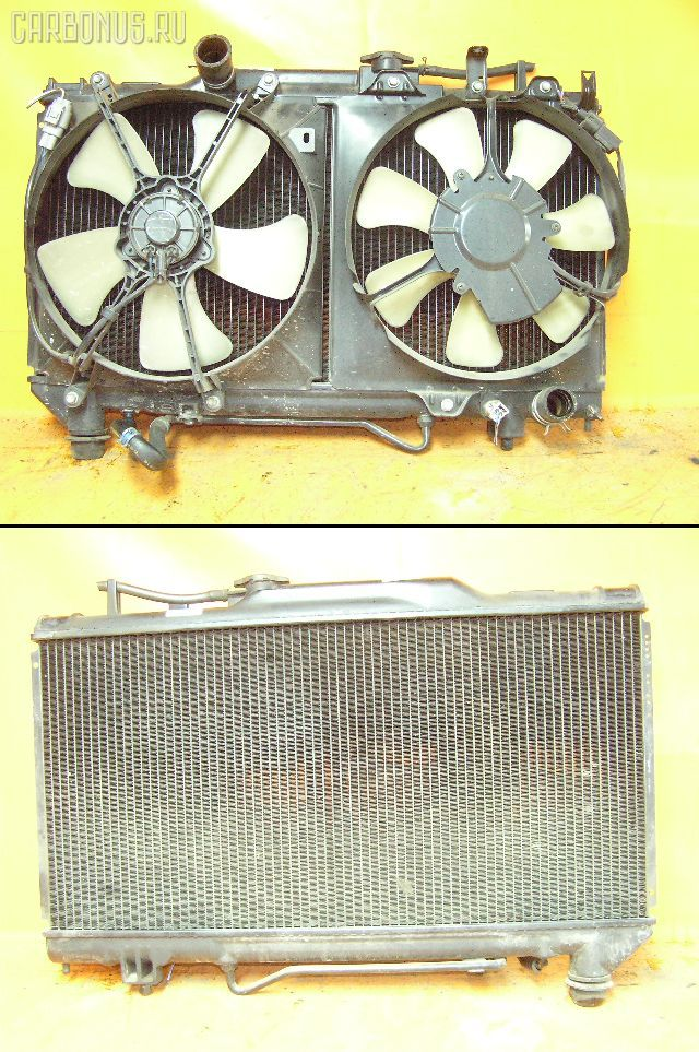 Радиатор ДВС TOYOTA CORONA ST190 4S-FE. Фото 1