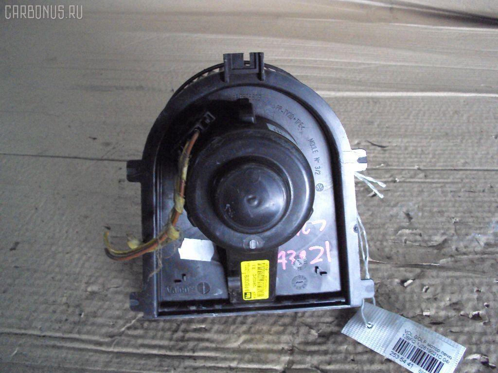 Мотор печки VOLKSWAGEN GOLF IV 1JAGN. Фото 1