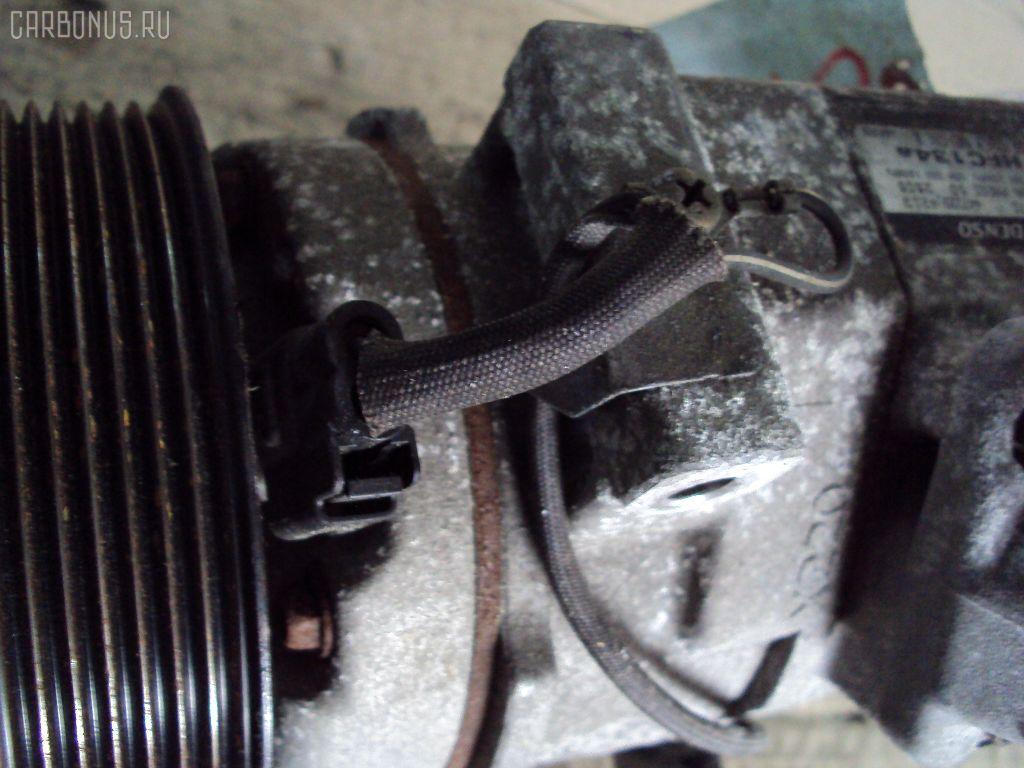 Компрессор кондиционера TOYOTA IPSUM ACM21W 2AZ-FE. Фото 4