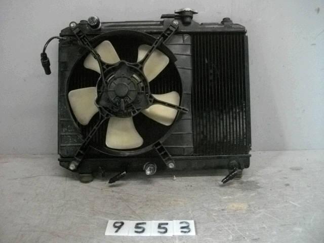 Радиатор ДВС SUZUKI CULTUS GC21S G15A. Фото 4