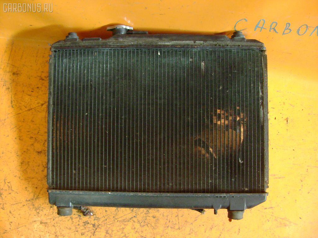 Радиатор ДВС SUZUKI CULTUS GC21S G15A. Фото 2