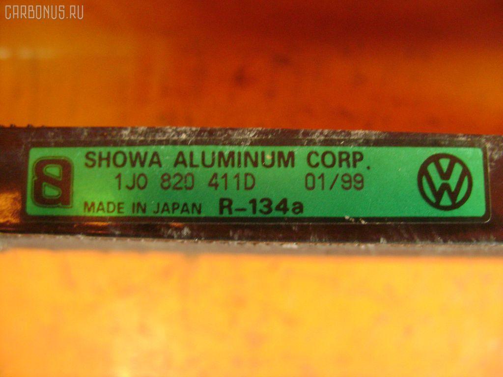 Радиатор кондиционера VOLKSWAGEN GOLF IV 1JAGU AGU. Фото 3