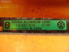 Радиатор кондиционера VOLKSWAGEN GOLF IV 1JAGU AGU Фото 3