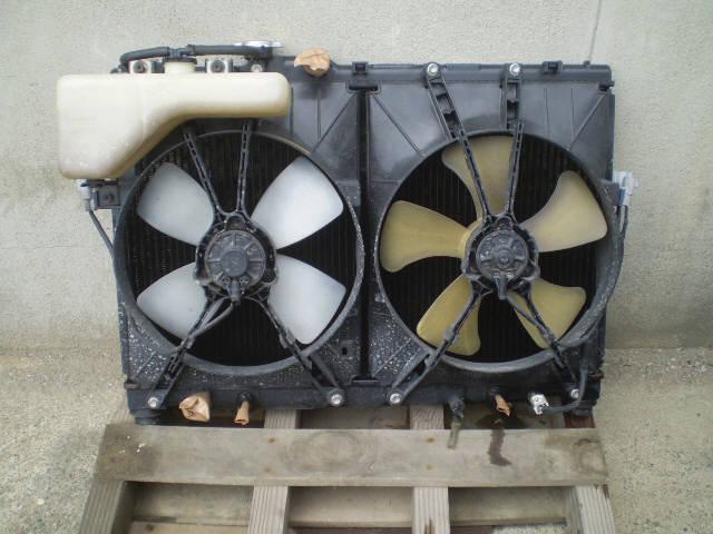Радиатор ДВС TOYOTA CHASER SX90 4S-FE. Фото 5