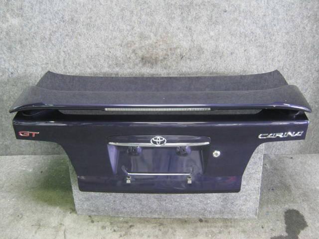 Крышка багажника TOYOTA CARINA AT210. Фото 4