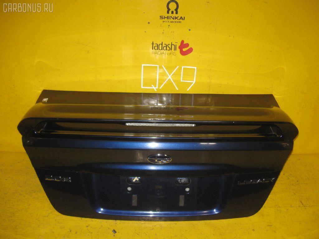 Крышка багажника SUBARU LEGACY BL5. Фото 2