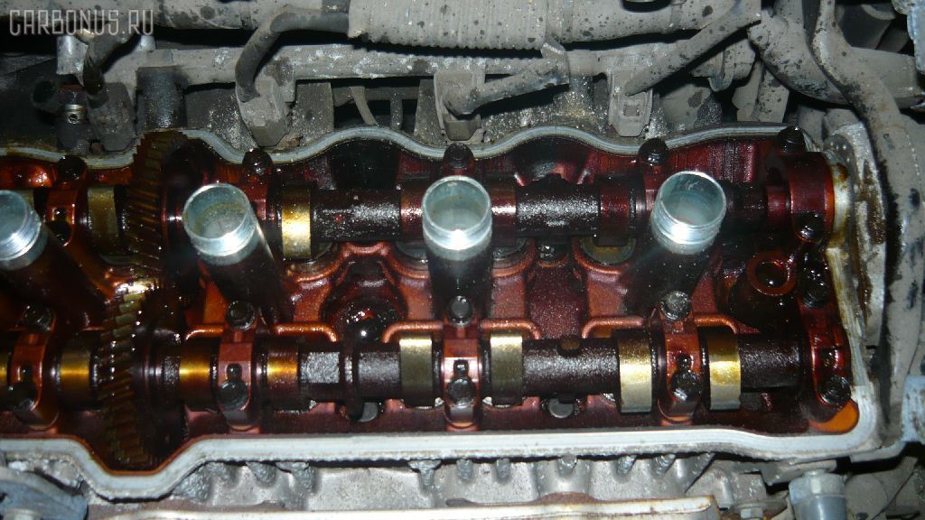 Двигатель TOYOTA CAMRY SV40 4S-FE. Фото 8