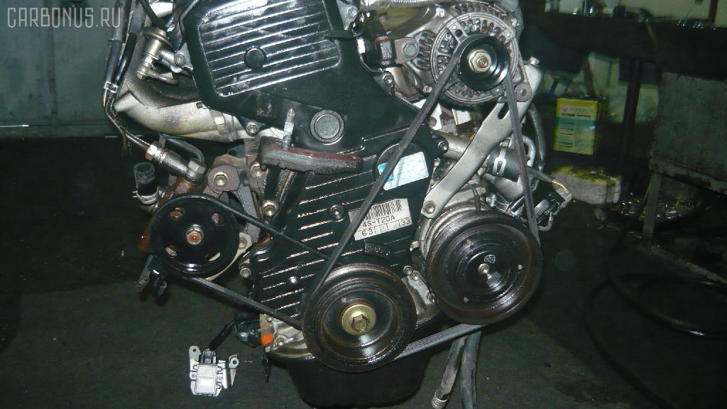Двигатель TOYOTA CAMRY SV30 4S-FE. Фото 9