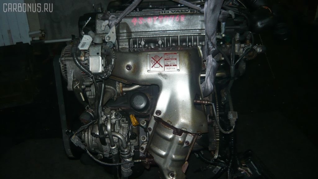 Двигатель TOYOTA CAMRY SV30 4S-FE. Фото 10