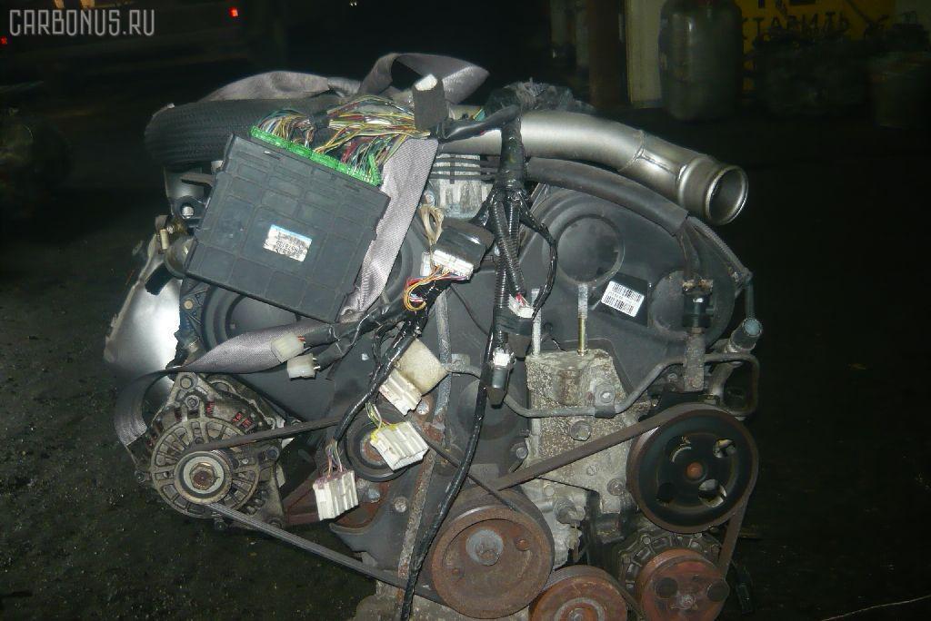 Двигатель MITSUBISHI GALANT EC5A 6A13-TT. Фото 6
