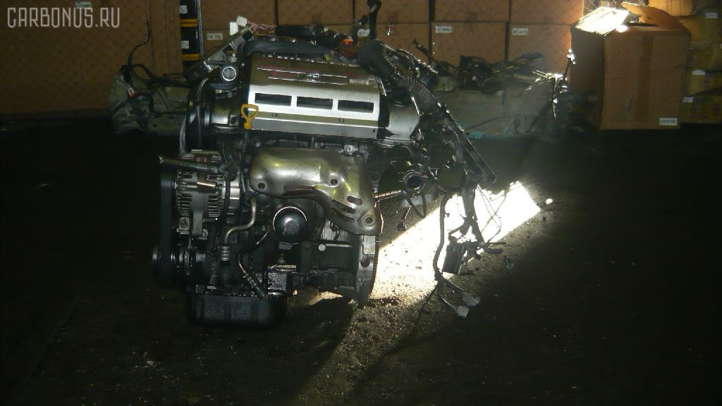 Двигатель TOYOTA MARK II QUALIS MCV21W 2MZ-FE. Фото 7