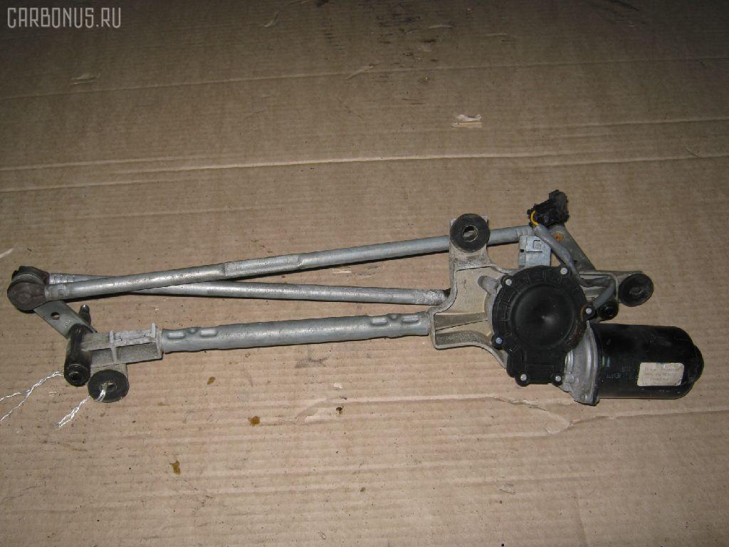Мотор привода дворников OPEL VECTRA C Z02Z22. Фото 2