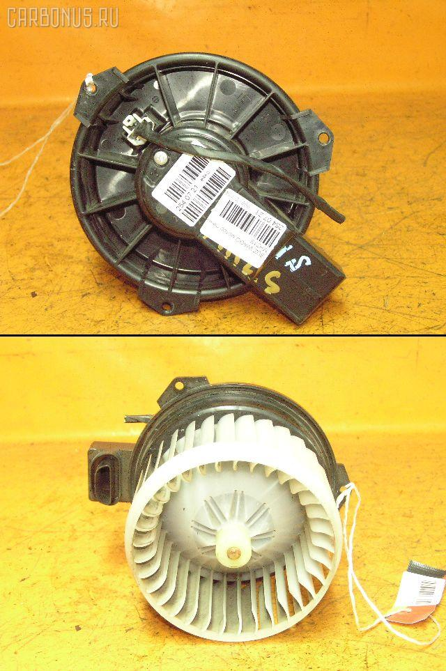 Мотор печки SUZUKI WAGON R MH21S. Фото 1