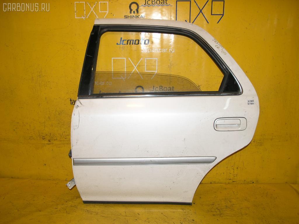 Дверь боковая TOYOTA CRESTA JZX100. Фото 1