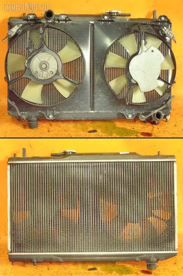 Радиатор ДВС TOYOTA CALDINA ST215W 3S-GTE. Фото 3