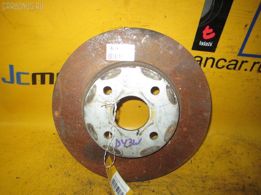 Тормозной диск MAZDA DEMIO DY3W. Фото 3