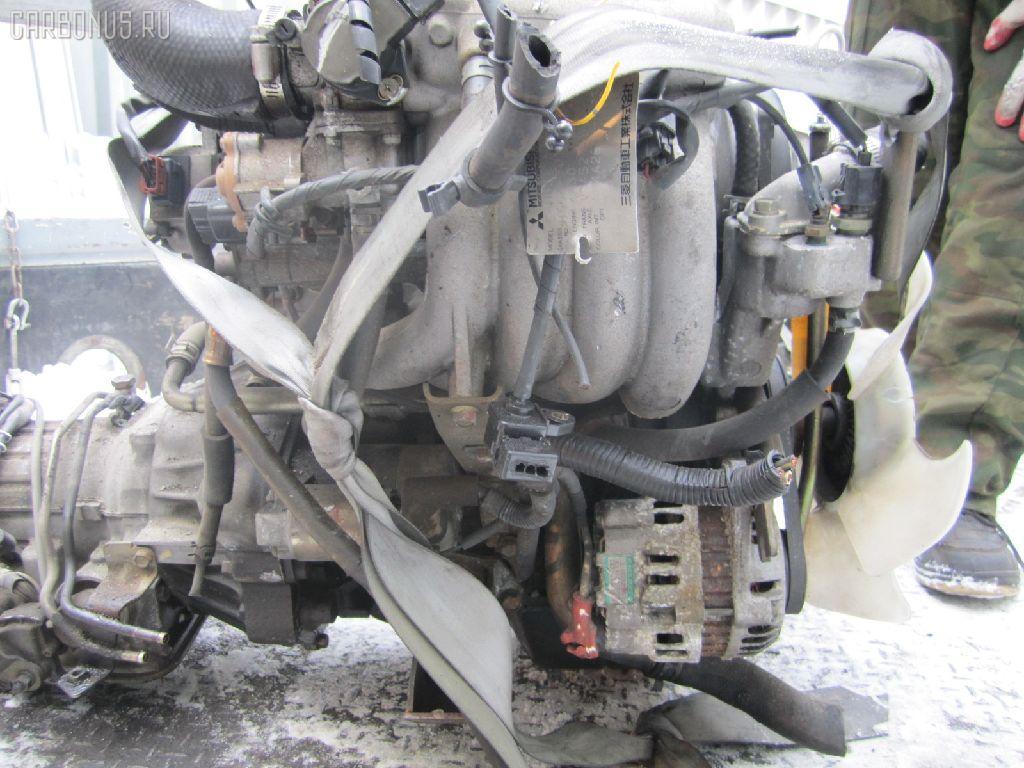 Двигатель MITSUBISHI PAJERO MINI H56A 4A30T. Фото 1