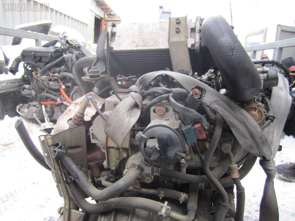 Двигатель MITSUBISHI PAJERO MINI H56A 4A30T. Фото 3