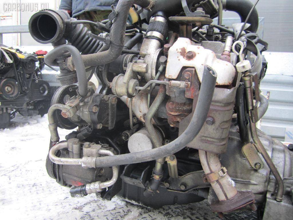 Двигатель MITSUBISHI PAJERO MINI H56A 4A30T. Фото 4