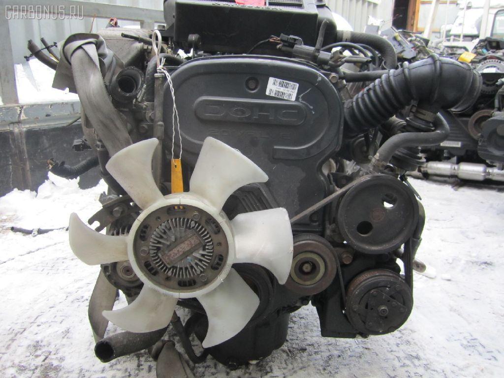 Двигатель MITSUBISHI PAJERO MINI H56A 4A30T. Фото 5
