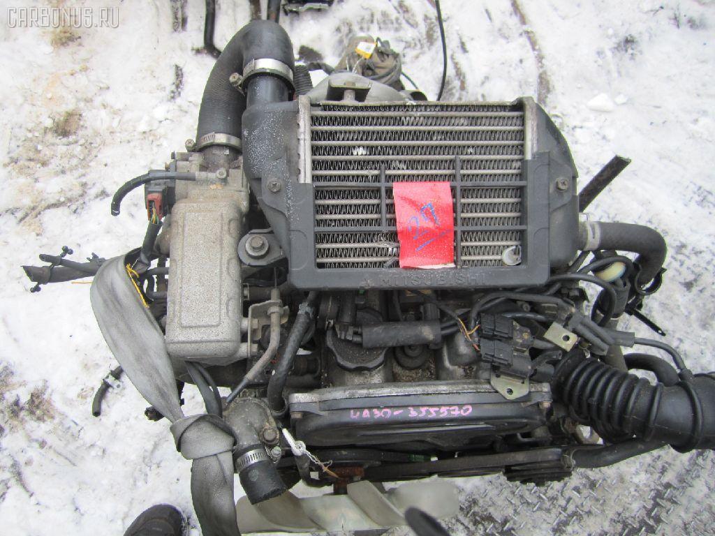 Двигатель MITSUBISHI PAJERO MINI H56A 4A30T. Фото 6
