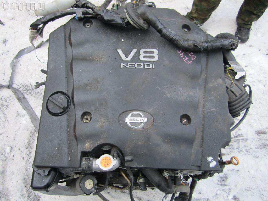 Двигатель NISSAN CIMA GF50 VK45DD. Фото 4