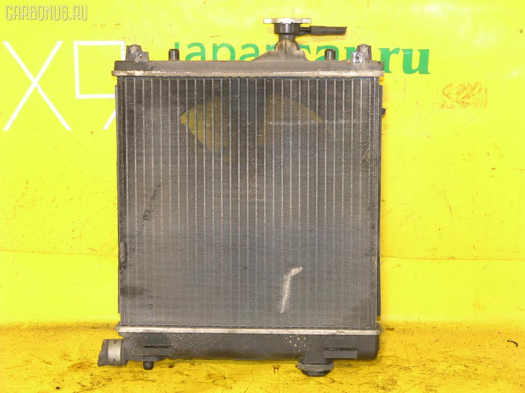 Радиатор ДВС SUZUKI WAGON R MC22S K6A. Фото 1