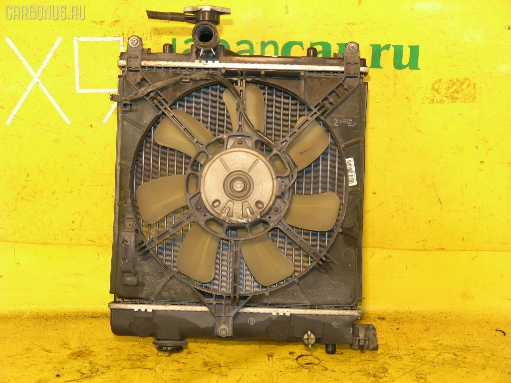 Радиатор ДВС SUZUKI WAGON R MC22S K6A. Фото 2