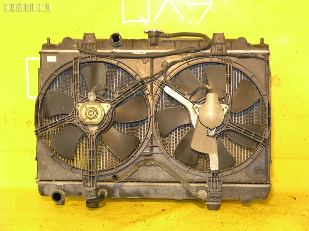 Радиатор ДВС NISSAN AVENIR W11 QG18DE. Фото 2