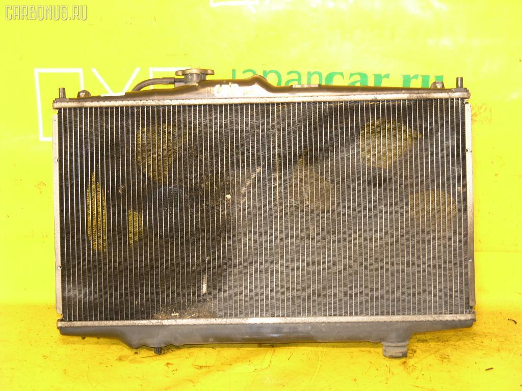 Радиатор ДВС HONDA ACCORD WAGON CF6 F23A. Фото 7