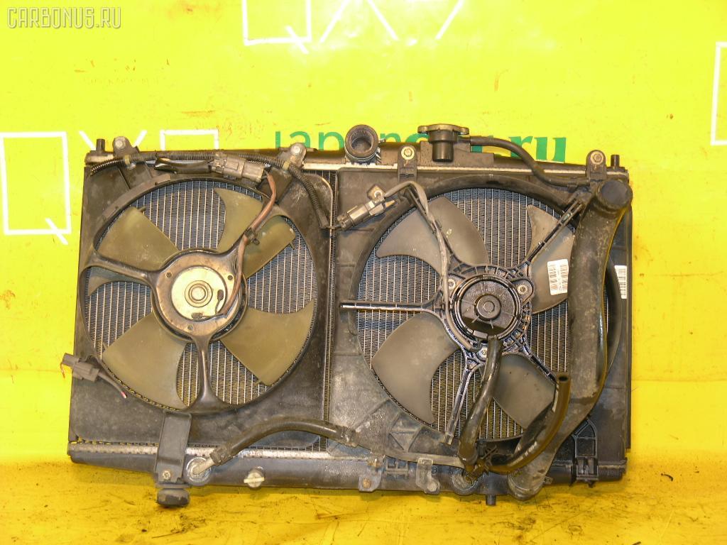 Радиатор ДВС HONDA ACCORD WAGON CF6 F23A. Фото 8