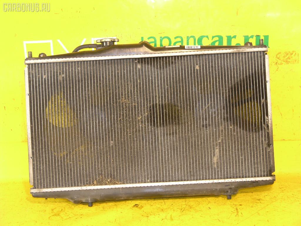 Радиатор ДВС HONDA ACCORD WAGON CF6 F23A. Фото 9