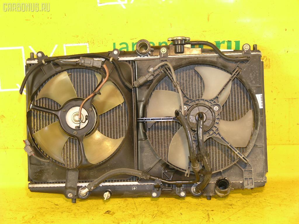 Радиатор ДВС HONDA ACCORD WAGON CF6 F23A. Фото 10