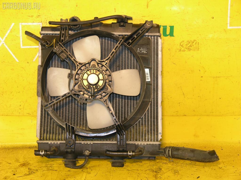 Радиатор ДВС MAZDA DEMIO DW3W B3. Фото 6