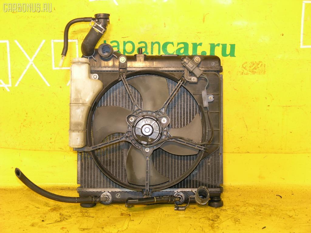 Радиатор ДВС HONDA FIT GD1 L13A. Фото 3