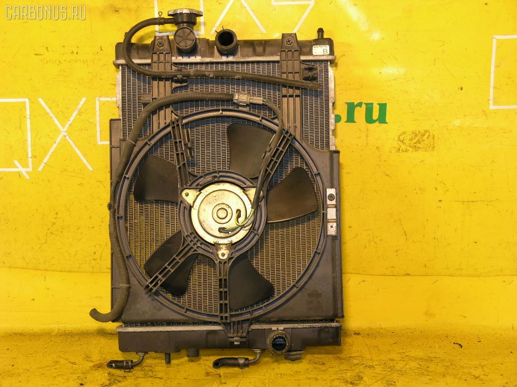 Радиатор ДВС NISSAN CUBE Z10 CG13DE. Фото 3