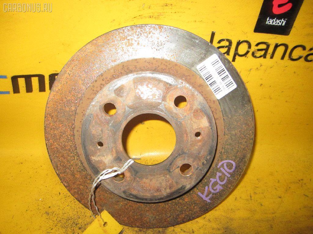 Тормозной диск TOYOTA PASSO KGC10. Фото 1