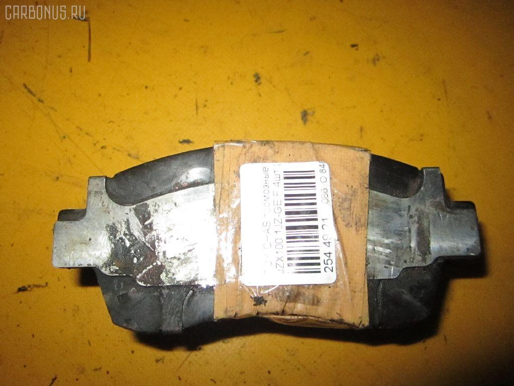 Тормозные колодки TOYOTA CHASER JZX100 1JZ-GE. Фото 3