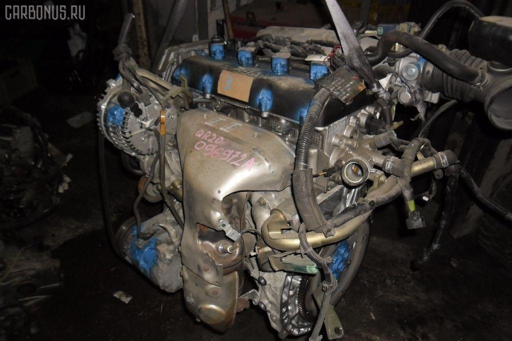 Двигатель NISSAN LIBERTY RM12 QR20DE. Фото 6