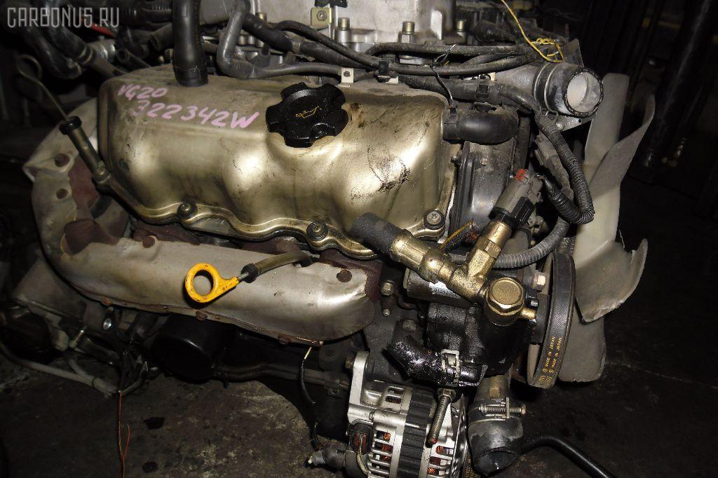 Двигатель NISSAN CEDRIC Y31 VG20E. Фото 2