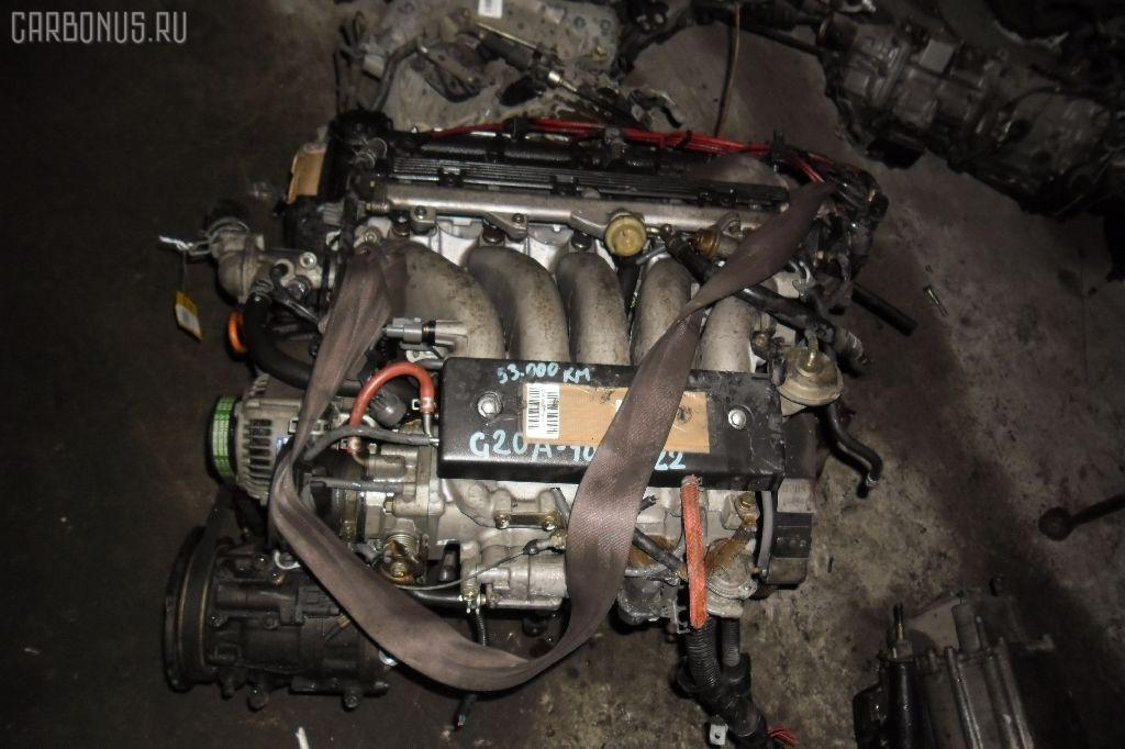 Двигатель HONDA ACCORD INSPIRE CB5 G20A. Фото 2
