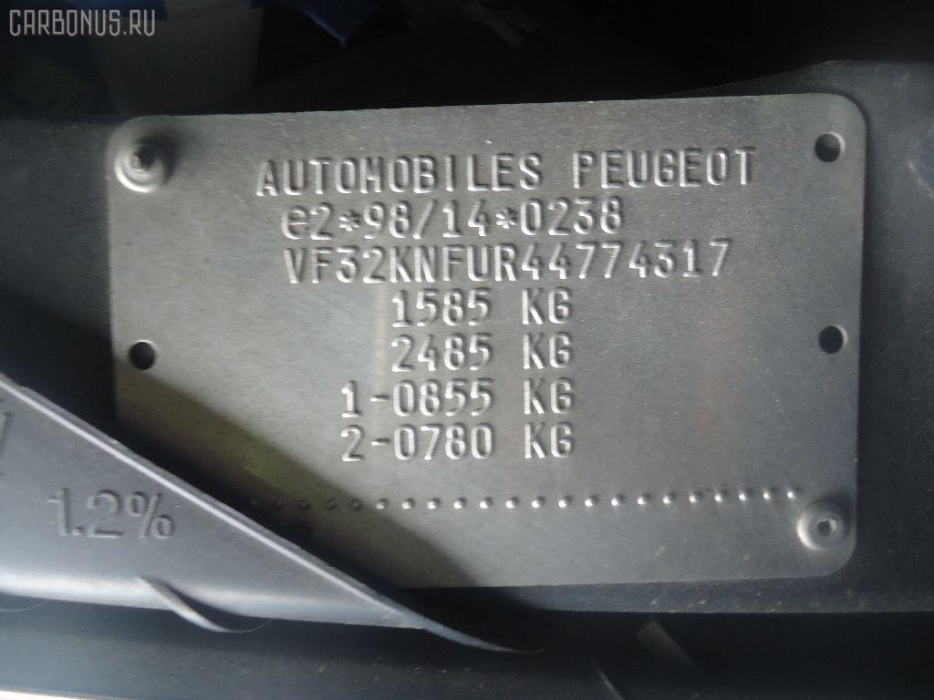 Шторка багажника PEUGEOT 206 SW 2KNFU Фото 3