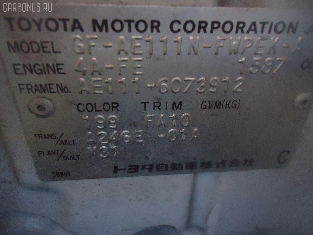 Тросик на коробку передач TOYOTA COROLLA SPACIO AE111N 4A-FE Фото 3