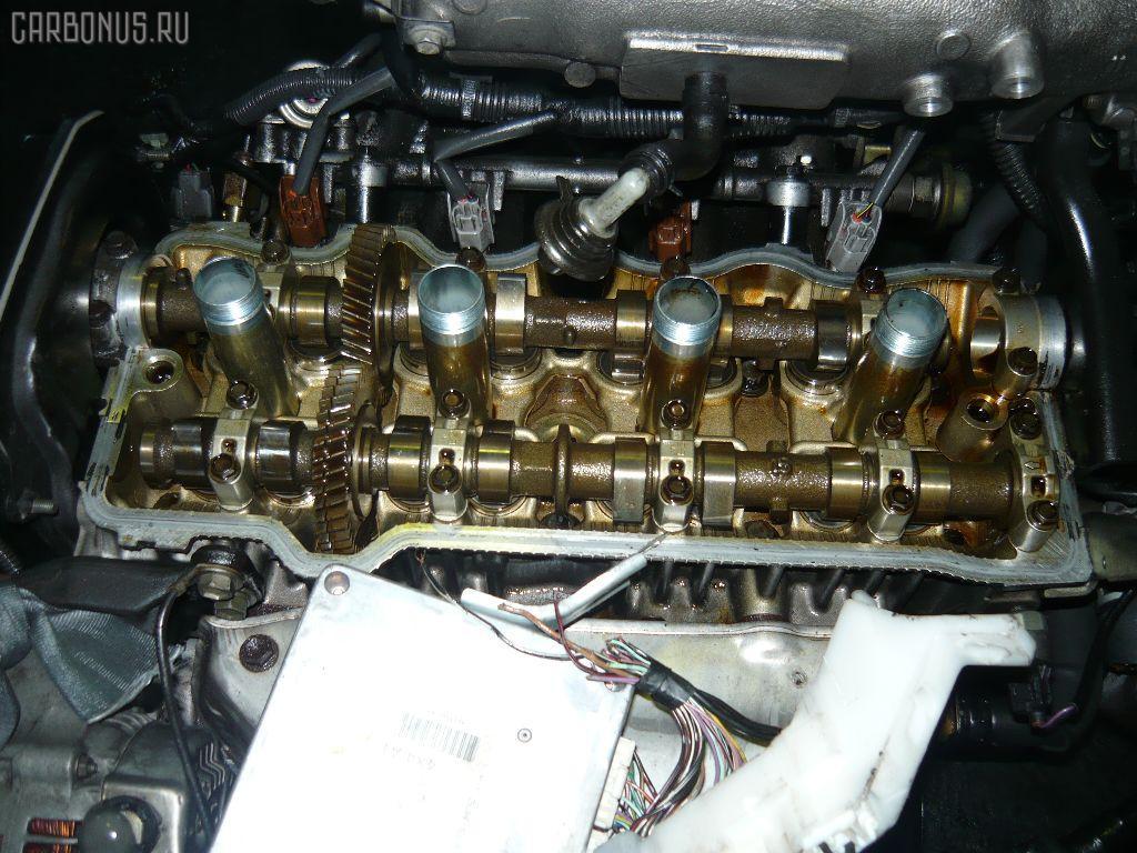 Двигатель TOYOTA CORONA PREMIO ST215 3S-FE. Фото 4