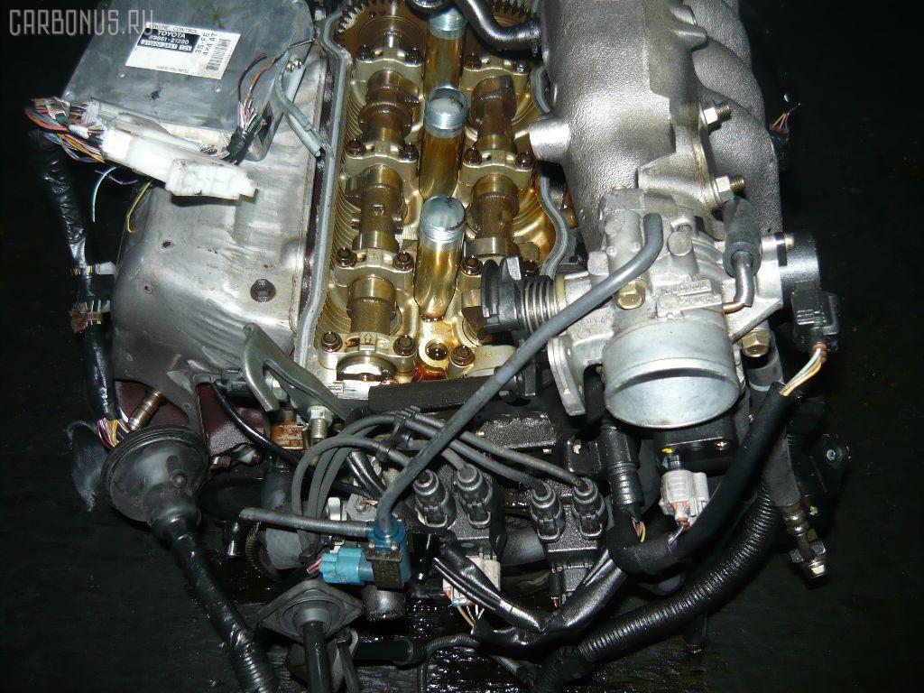 Двигатель TOYOTA CORONA PREMIO ST215 3S-FE. Фото 7