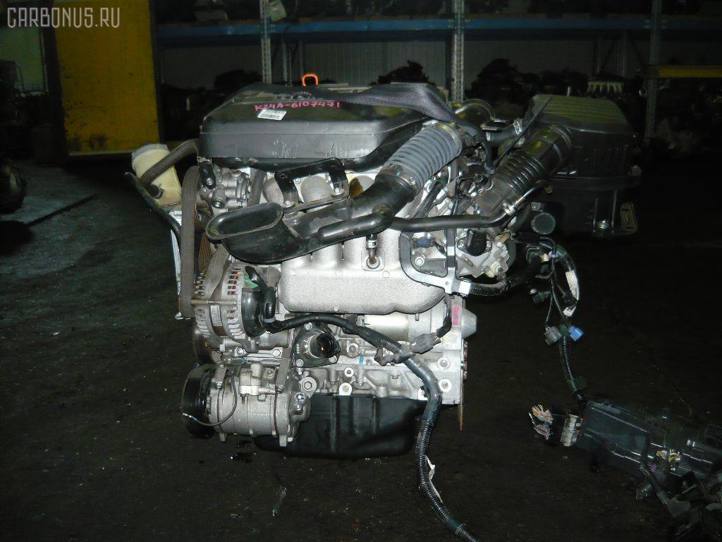 Двигатель HONDA ELYSION RR1 K24A. Фото 5