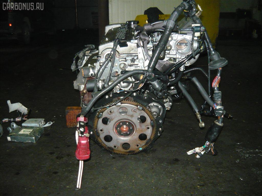Двигатель TOYOTA CARINA AT212 5A-FE. Фото 3